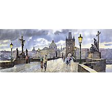 Prague Charles Bridge Photographic Print