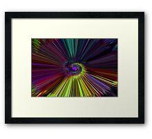 Warp Factor Framed Print