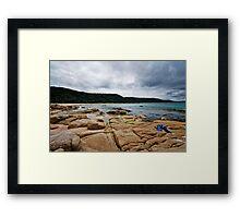Honeymoon Bay - Croajingolong National Park Framed Print