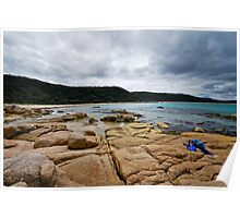 Honeymoon Bay - Croajingolong National Park Poster