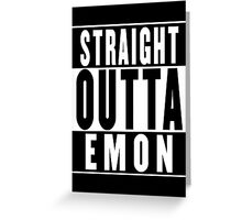 Critical Role - Straight Outta Emon Greeting Card