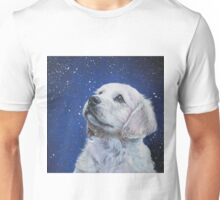 Golden Retriever Fine Art Painting Unisex T-Shirt
