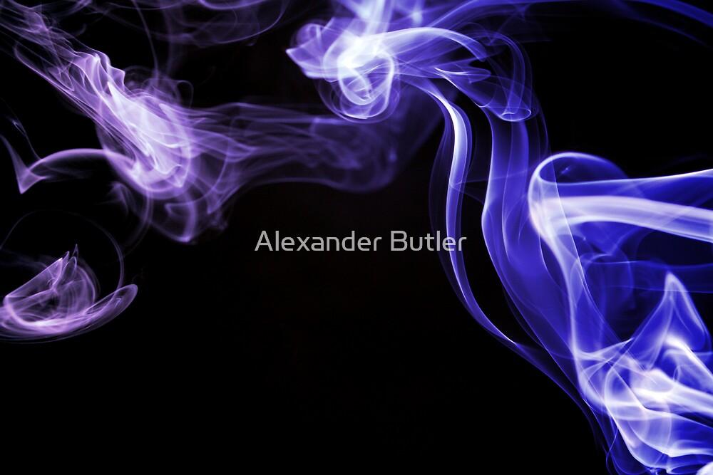 Blue Following by Alexander Butler