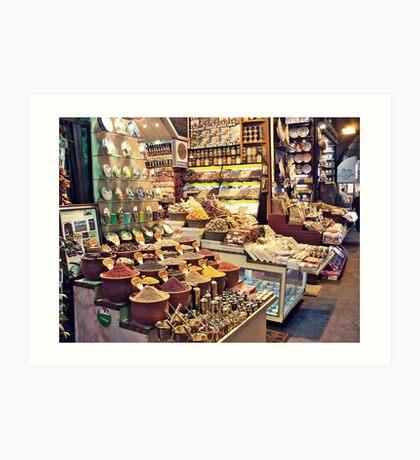 Spice Bazaar, Istanbul Art Print