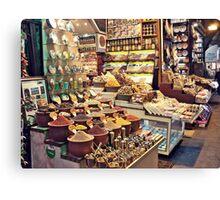 Spice Bazaar, Istanbul Canvas Print