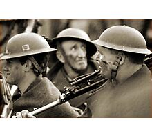 faces of war  Photographic Print
