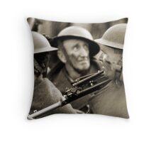 faces of war  Throw Pillow