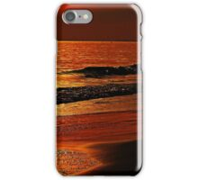 Red At Sunset iPhone Case/Skin