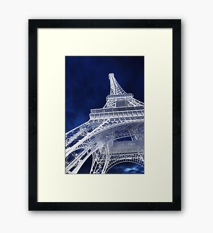 Eiffel Tower Experience Framed Print