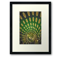 Spiraling Down the Rabbit's Hole Framed Print