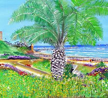 Tom's Palm Tree by Rob Beilby