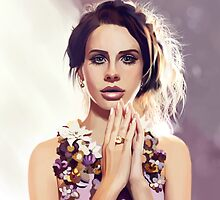 Lana del Ray by MartaDeWinter