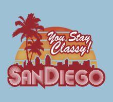 You Stay Classy! San Diego Kids Tee