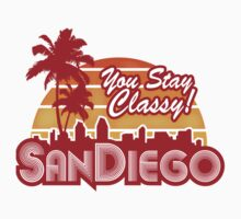 You Stay Classy! San Diego One Piece - Short Sleeve