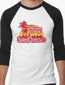 You Stay Classy! San Diego Men's Baseball ¾ T-Shirt