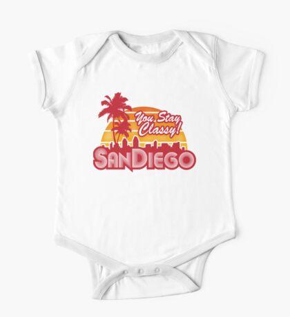You Stay Classy! San Diego One Piece - Short Sleeve