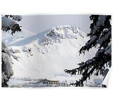 Ryounkaku Lodge, Tokachi Mountains, Hokkaido, Japan Poster