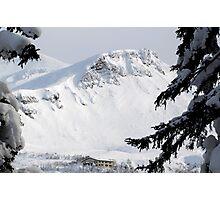 Ryounkaku Lodge, Tokachi Mountains, Hokkaido, Japan Photographic Print
