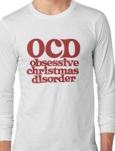 OCS Obsessive Christmas disorder I love christmas Long Sleeve T-Shirt
