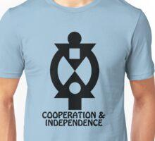 T-Shirt Adinkra Symbol: Cooperation Unisex T-Shirt