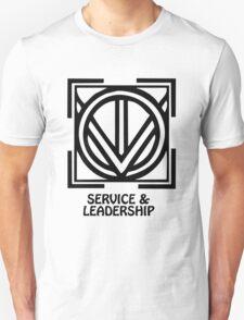 T-Shirt Adinkra Symbol: Service & Leadership T-Shirt