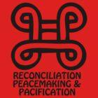 T-Shirt Adinkra Symbol: Reconcilation by Keith Richardson