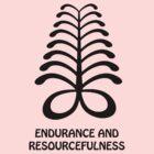 T-Shirt Adinkra Symbol: Endurance by Keith Richardson