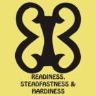 T-Shirt Adinkra Symbol: Readiness by Keith Richardson