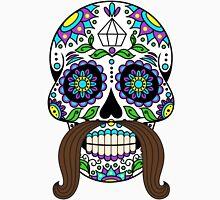 skull moustache Unisex T-Shirt