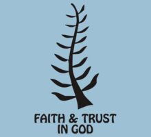 T-Shirt Adinkra Symbol: Trust in God by Keith Richardson