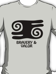 T-Shirt Adinkra Symbol: Bravery & Valor T-Shirt