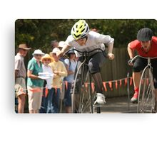Penny Farthing Races, Evandale, Tasmania Canvas Print