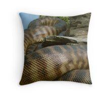 snake skin  Throw Pillow