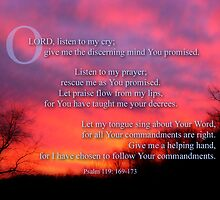 Psalm 119 for my sister by vigor