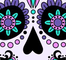 skull pink Sticker
