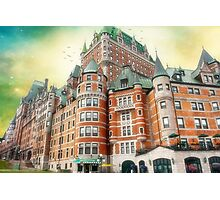 Chateau Frontenac, Quebec City, Canada Photographic Print