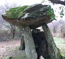 Gaulstown Dolmen,,Tramore,Co. Waterford,Ireland. by Pat Duggan
