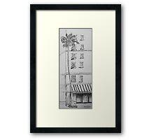 Spice and Tea Shop Framed Print