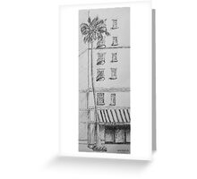 Spice and Tea Shop Greeting Card