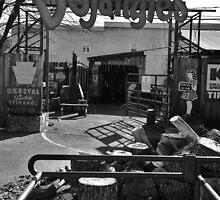 Bojangle's Garage by Andrea Morris
