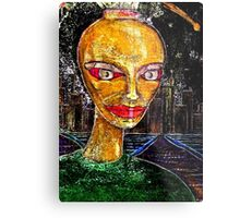 Yesterday Person Metal Print