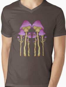 shrooms -black- Mens V-Neck T-Shirt