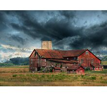 WEATHERING THE STORM Photographic Print