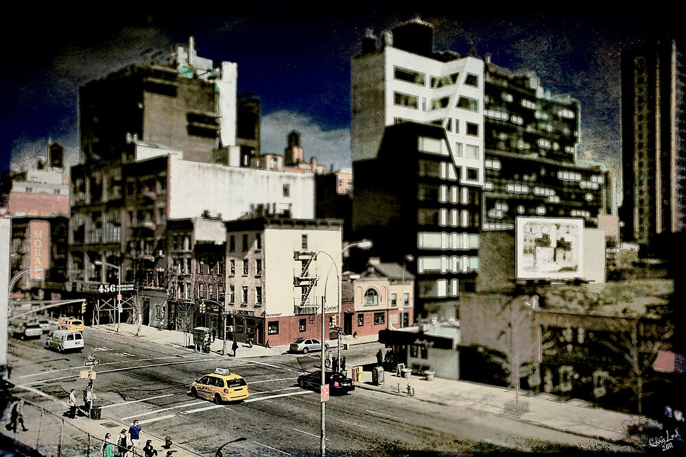 18th & 10th, a NYC Cityscape by Chris Lord