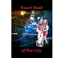Heart Beat in the City Photographic Print