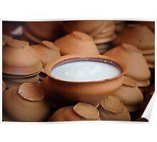 Yogurt Indian Style Poster