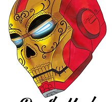 Death Mask by IronMan by jaygeeart