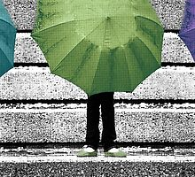 Umbrella Trio by Lisa Knechtel