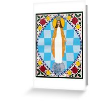 Icon of the Immaculate Conception Greeting Card