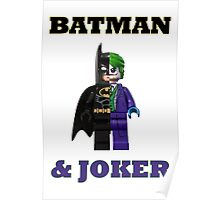 LEGO BATMAN & JOKER Poster